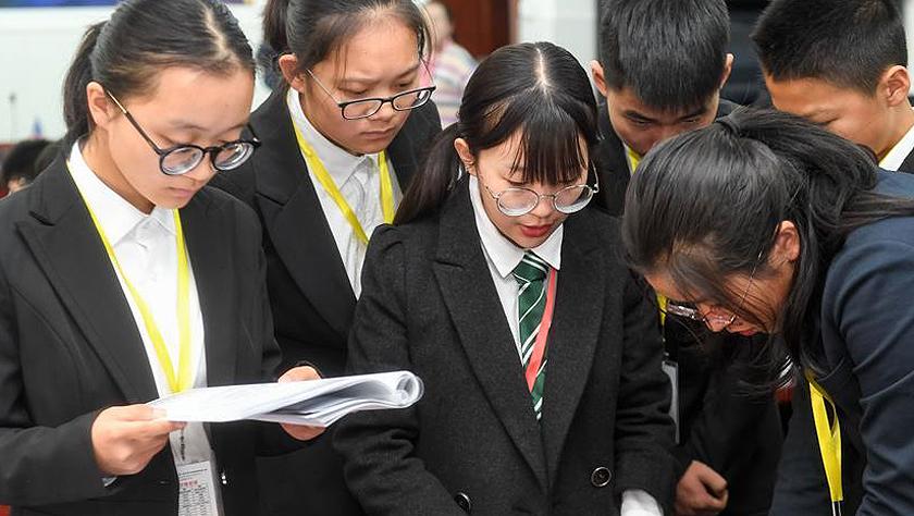 合肥:中学生模拟联合国大会