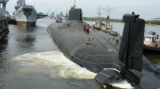 4.6万吨级巨鲸!看最大核潜艇如何出海