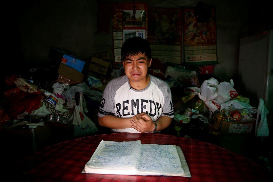 笔记本就是记忆:台湾男孩在车祸中丧失记忆之后