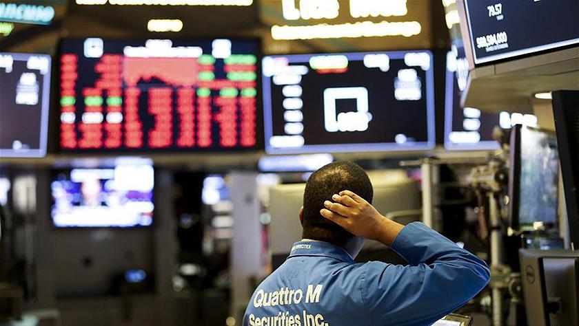 纽约股市三大股指20日大跌