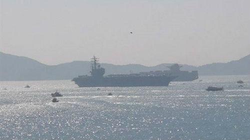 美航母战斗群获准访港 境外媒体:释放和缓信号