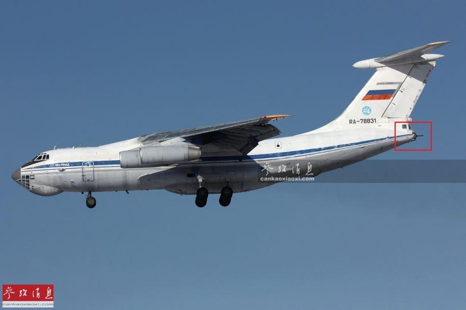 运输机有尾炮舱!记者登伊尔-76MD参观