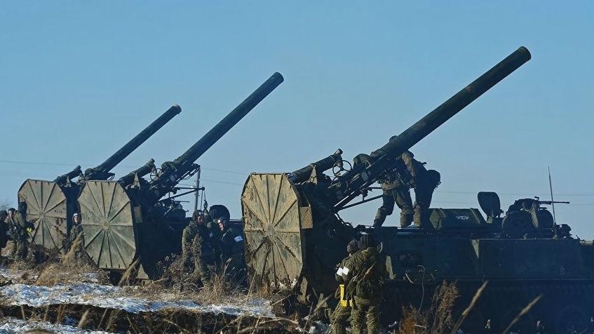 """能发射1.5米高爆弹!俄""""超级大炮""""威力或可摧毁一座城市"""
