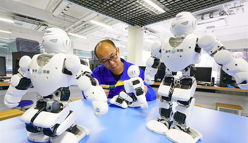 河北唐山:构筑机器人全链条生态圈引领经济转型发展