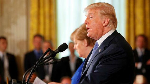 白宫眼里的德国什么样?德媒:移民政策失败 对美贸易顺差巨大