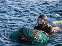 韩国济州岛的海女