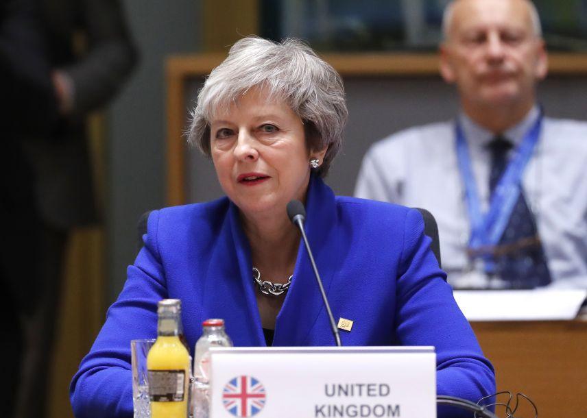 """欧盟通过英国""""脱欧""""协议"""