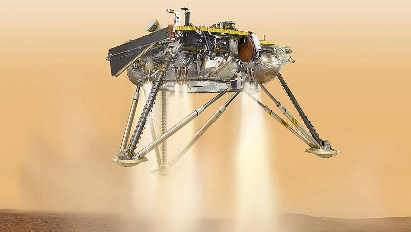 """6个月的航行!""""洞察""""号无人探测器将登陆火星"""