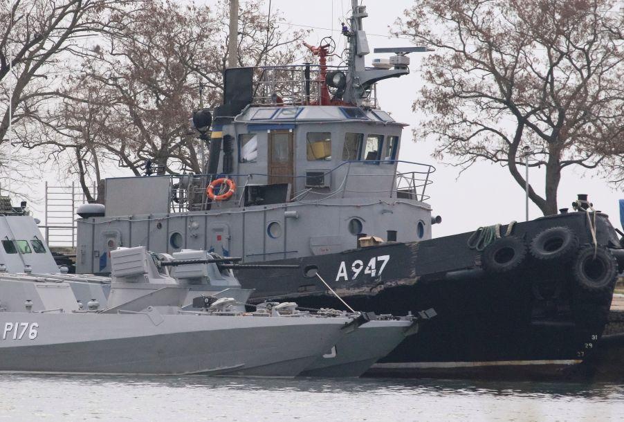 """俄罗斯对乌克兰海军船只""""动武""""令黑海剑拔弩张"""