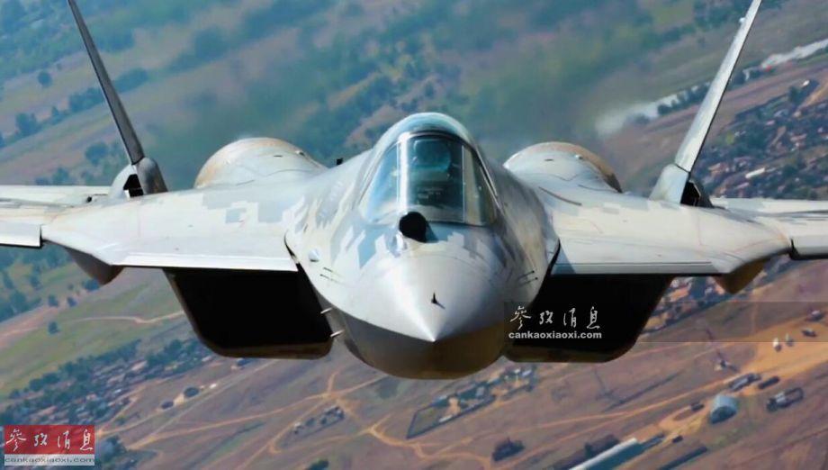1 近日,俄媒披露了有关俄空军苏-57隐身战机相关的最新情报,其中许多内容为首次公开,例如地面训练用的全景模拟器,俄媒记者还罕见进行了体验。图为苏-57隐身战机空对空拍摄特写照。53