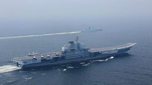 美媒:中国首次证实第三艘航母已在有序建造