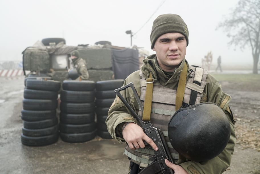 """乌克兰在部分地区进入""""战争状态"""""""