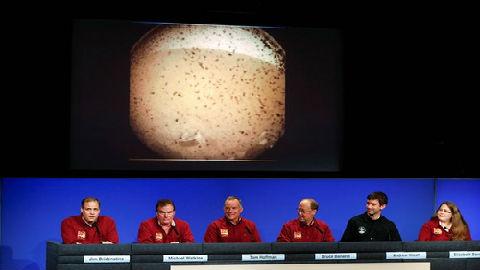 """外媒:""""洞察""""号火星着陆晒首张新家照 多国筹划火星新任务"""