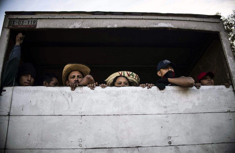 墨西哥或收容部分中美洲移民