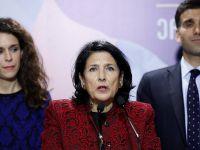格鲁吉亚选出首位女总统