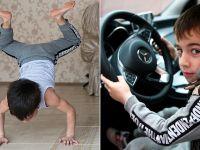 五岁男孩一次做3202次俯卧撑获车臣总统赠奔驰车