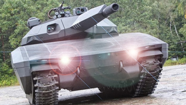 """军情锐评:杀敌于无形!""""变色龙""""迷彩问世 隐形坦克时代将来临"""