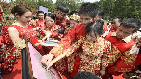 港媒称内地婚礼成变革新目标:向天价彩礼与低俗婚闹说不!