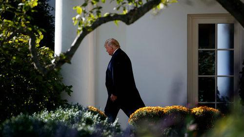 """老布什国葬成特朗普""""天赐良机""""?台媒:期待展现团结气氛"""