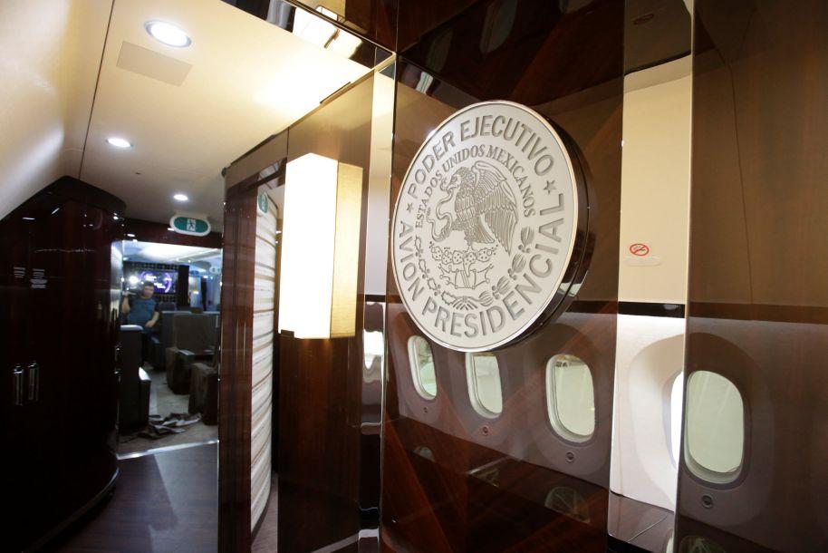 墨西哥前总统专机被新政府拍卖 豪华内饰曝光