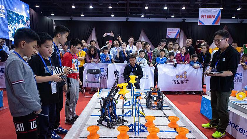 第12届腾讯杯青少年VEX机器人亚洲锦标赛决赛在澳门举行