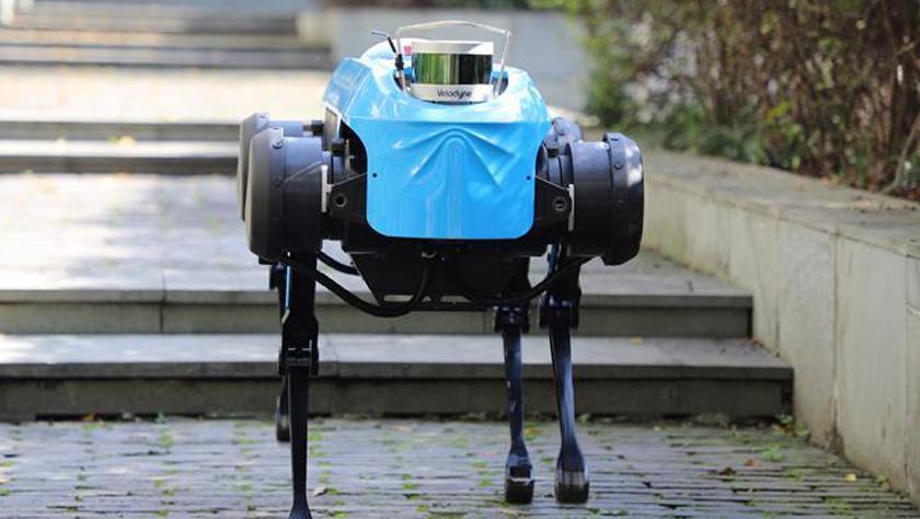 """新一代""""绝影""""四足机器人发布 具备跑步及上下台阶能力"""