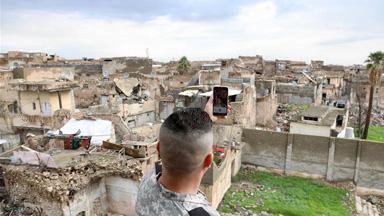 伊拉克开始清理摩苏尔努里清真寺废墟