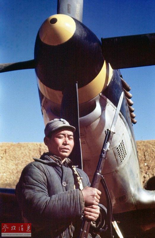 """""""野马""""遇水牛!美曝P-51亚博抗战彩照"""