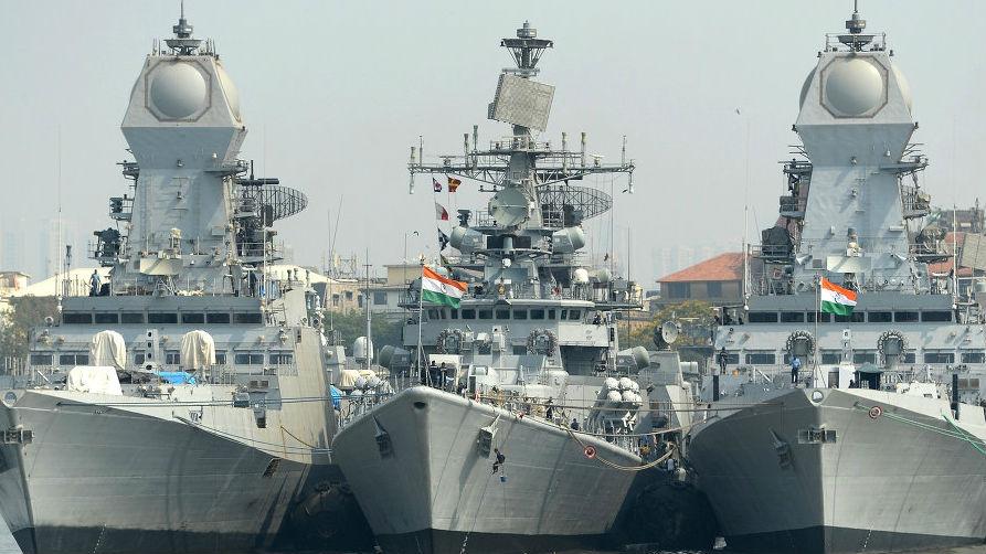 印度水师开启大范围战力晋级 每天摆设35艘兵舰应对亚博
