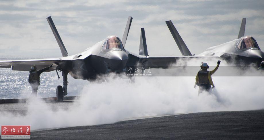行将摆设!美首支F35C隐身战机中队上舰