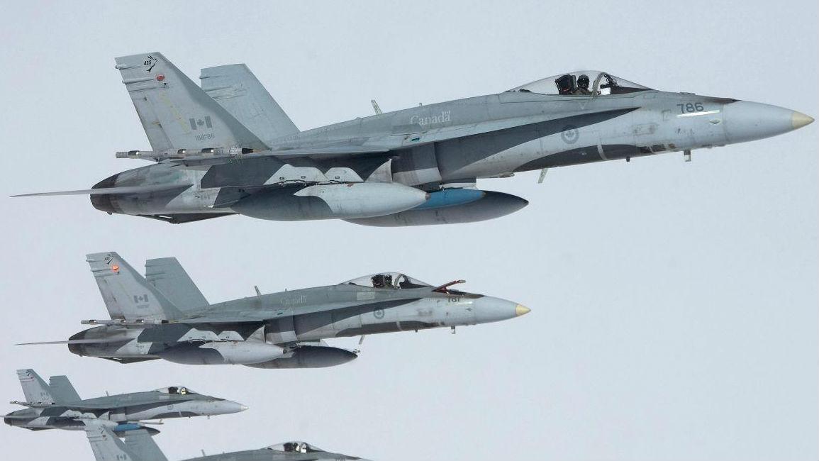 机型老旧 短少机器师!美媒称加拿大空军没有充足战机实行使命
