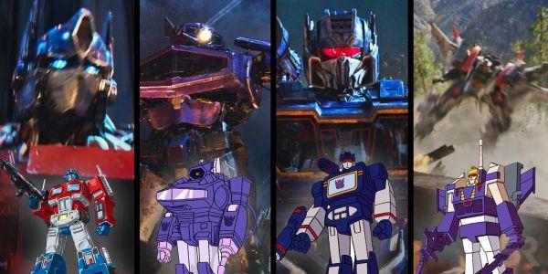 本片机器人形象与动画还原度极高4