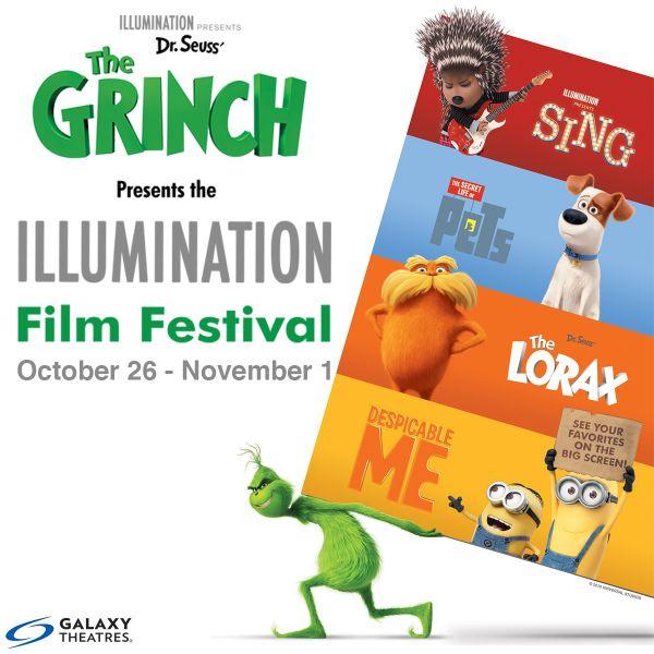 4美影院将《格林奇》与照明动画之前的作品联播