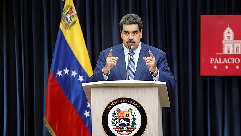 委内瑞拉总统马杜罗指责美国干涉委内政