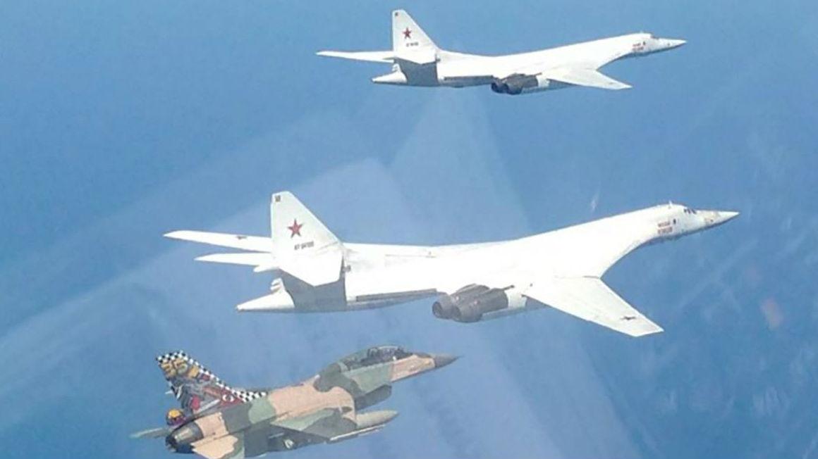 委空军F-16战机伴飞!俄军战略轰炸机完成加勒比海飞行