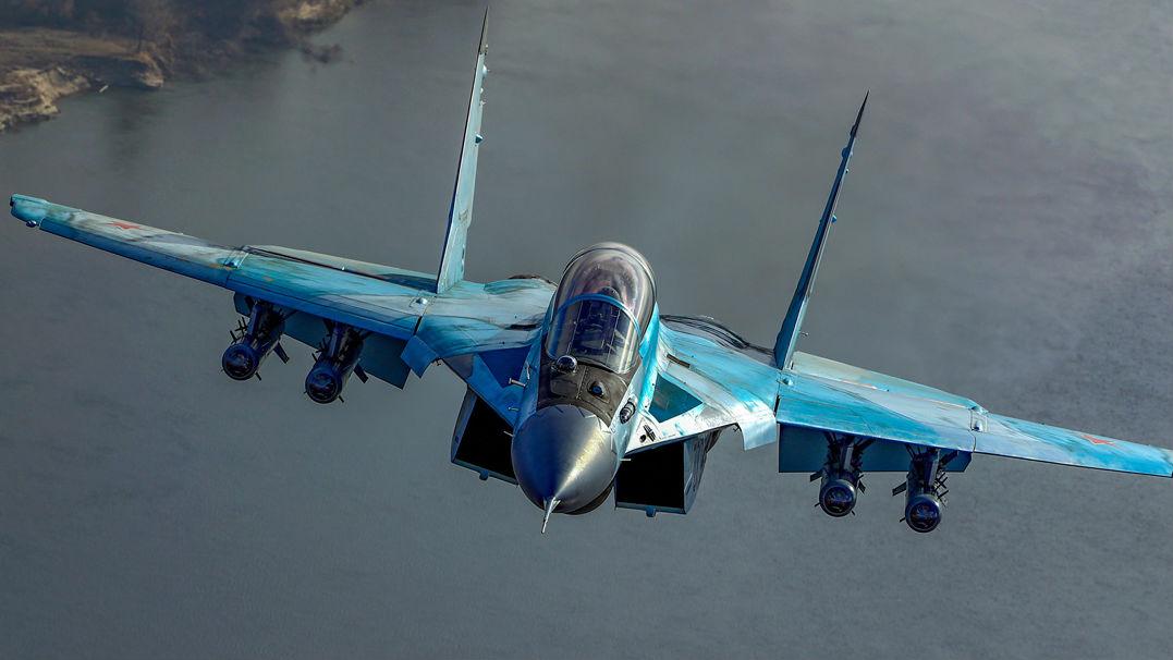 俄军试飞新型米格-35战机 可兼容使用多国武器弹药