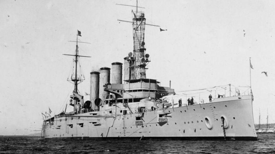 """美军""""圣迭戈""""号战舰沉没百年之谜破解:遭德军U艇袭击"""