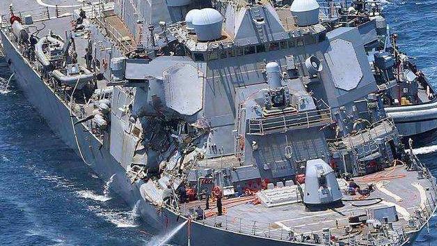 """外媒称近年来美军事故频发:海空军是""""重灾区"""""""
