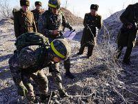 韩朝完成非军事区互撤哨所状况相互检验工作
