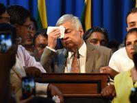 维克勒马辛哈宣誓就任斯里兰卡总理