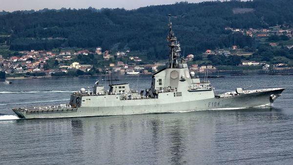 """专业""""带刀侍卫""""?西班牙护卫舰将加入美法航母战斗群"""