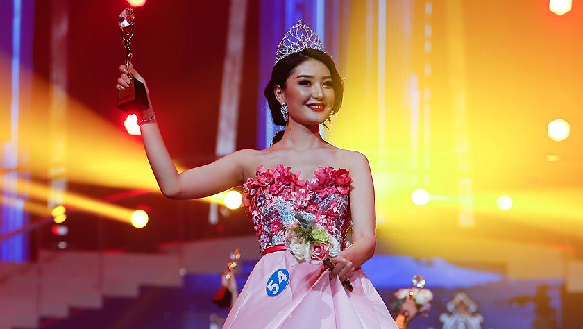第十五届中俄蒙美丽使者国际大赛落幕
