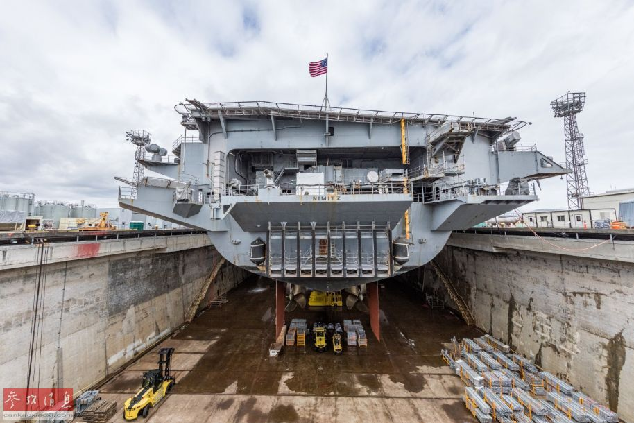进坞大修!首艘尼米兹级航母2020再部署