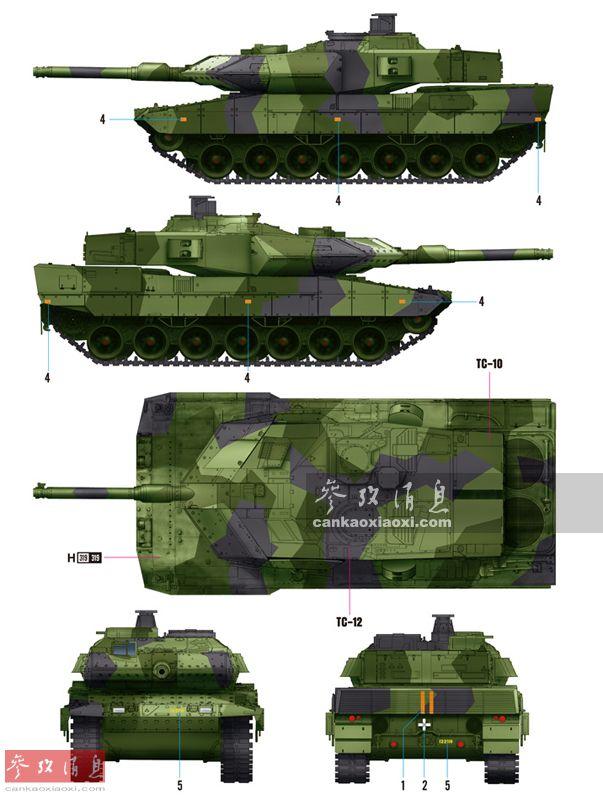 1分钟内灭六目标!瑞典豹2坦克实弹打靶