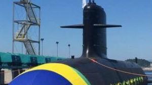 巴西首艘国产潜艇下水:运用全套法国技术 后续或建造核潜艇