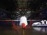 """中国自主研制的第100架""""翼龙""""无人机交付"""