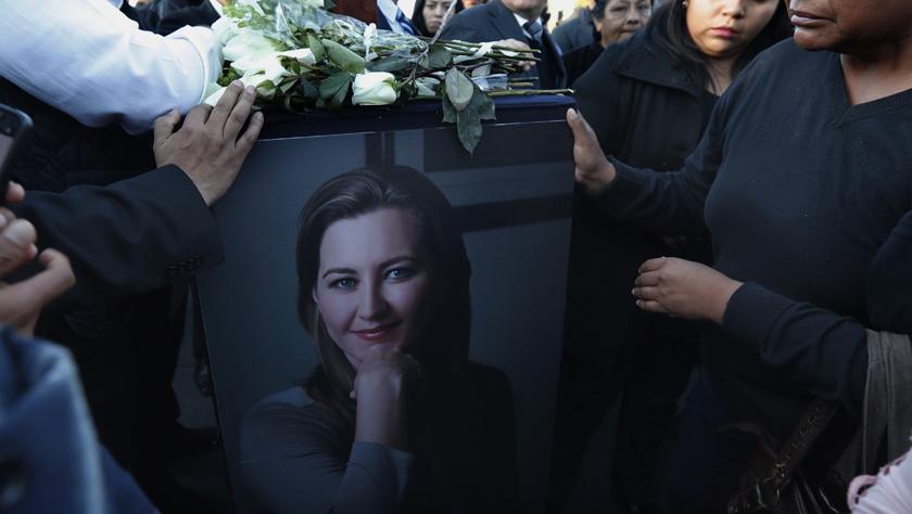 送别女州长——墨西哥一女州长因直升机坠毁遇难