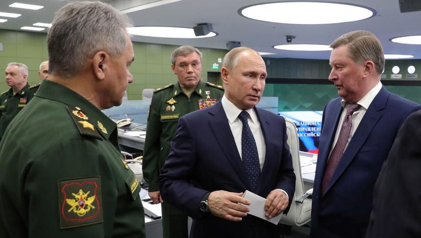 """普京观摩俄试射""""先锋""""高超音速导弹"""