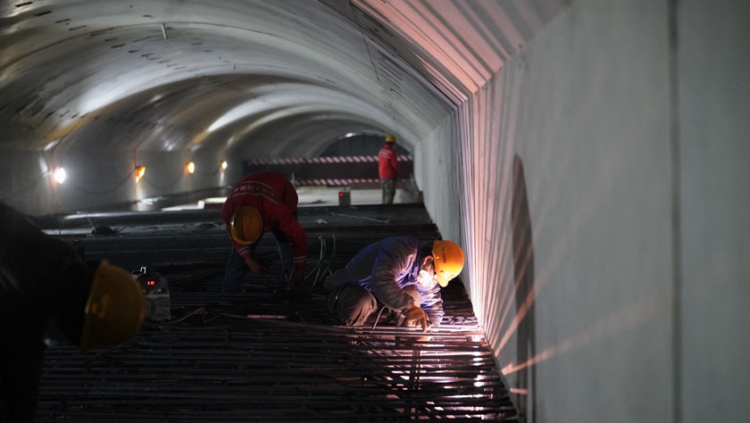 北京冬奥会延庆赛区综合管廊即将贯通