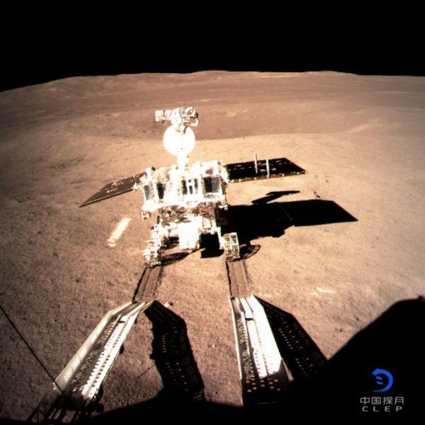 bob在线:制度优势 中国智慧:玉兔二号探测月背地形获八方点赞